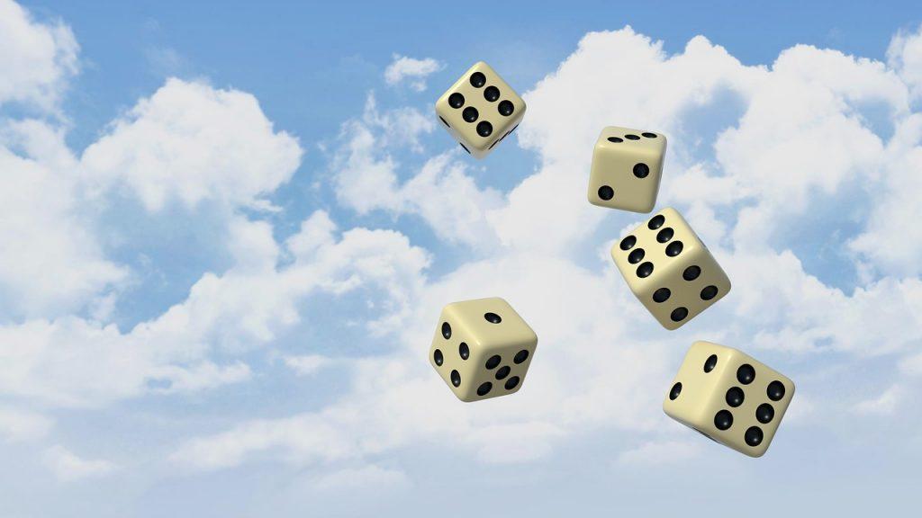 Glückswürfel für Gewinner